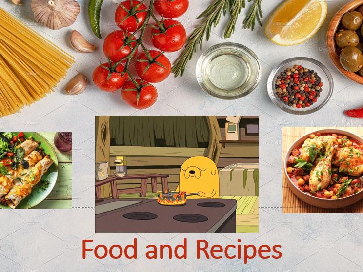ESL Food and Recipes