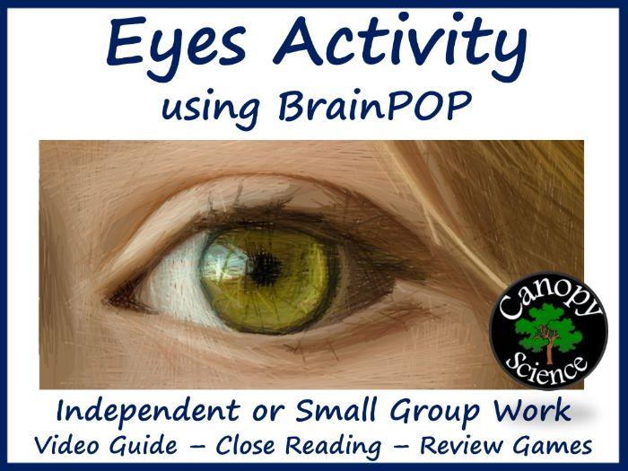 Eyes Activity using BrainPOP