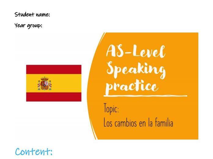As Speaking Conversational La familia