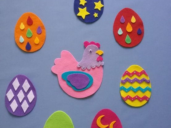 Hildy the Hen Felt Board Set Digital Pattern