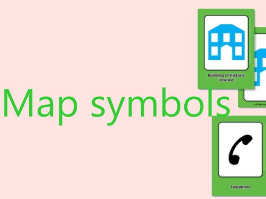 OS map symbols