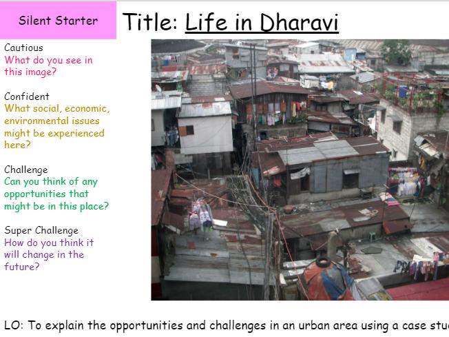 Dharavi Slum Settlement Mumbai