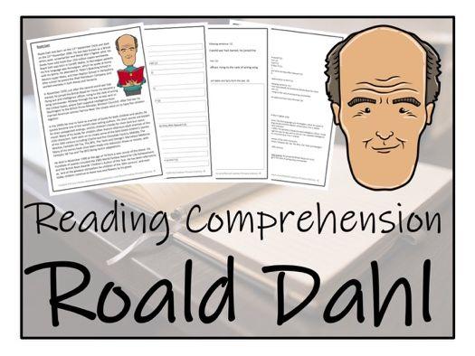 UKS2 Literacy - Roald Dahl Reading Comprehension Activity
