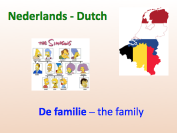 Beginner Dutch - The family - Lesson 5 - Suitable for A1/A2.