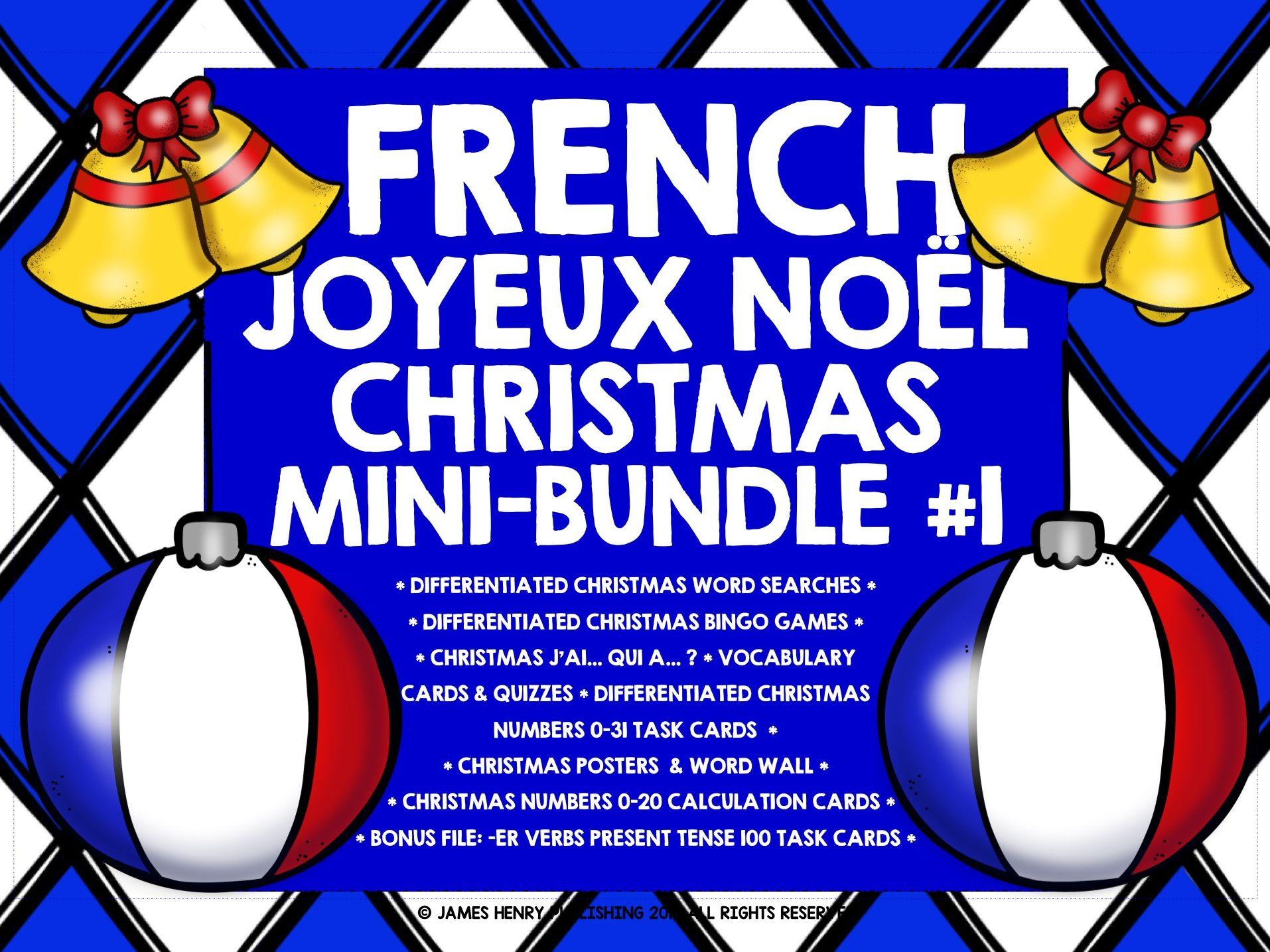 FRENCH CHRISTMAS MINI-BUNDLE #1