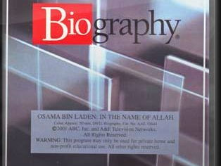 A & E Biography Osama Bin-Laden In the name of Allah Video Question w. Key