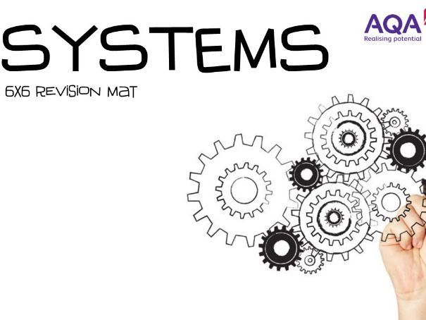 AQA 9-1 Engineering (New Spec) - Systems