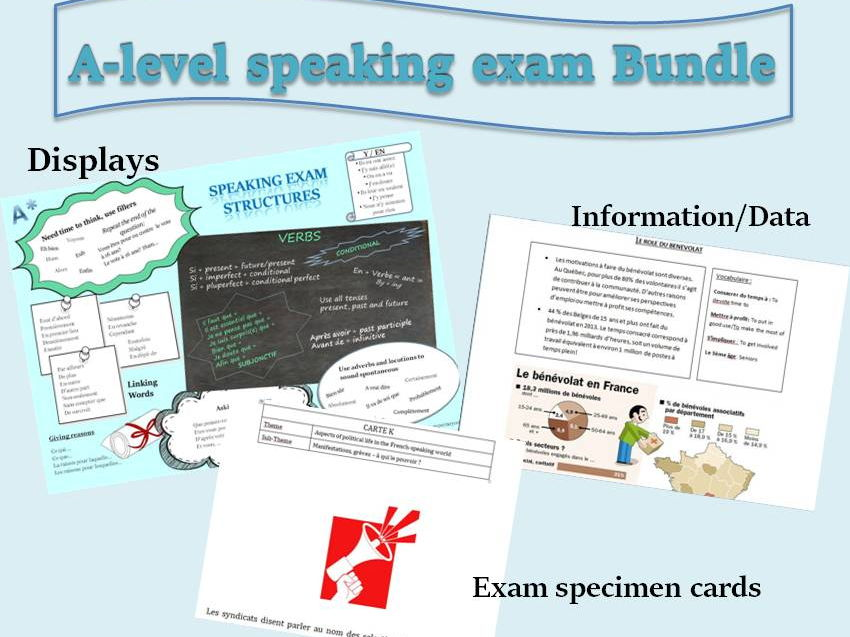 Speaking Exam French A-level