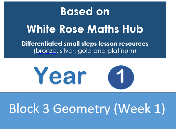 Year 1 - Autumn Block 3 - Week 1 - Geometry (shape & space) White Rose Maths Hub