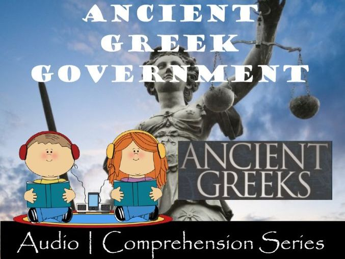 Ancient Greek Government | Distance Learning | Audio & Comprehension Worksheets