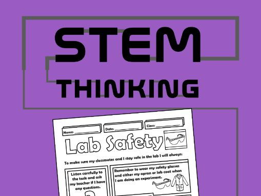 Back to School Science Lab Safety Rules Doodle Notes