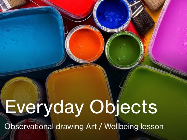 Art wellbeing lesson