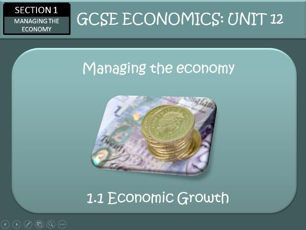 AQA GCSE Economics Unit 12 Economic Growth