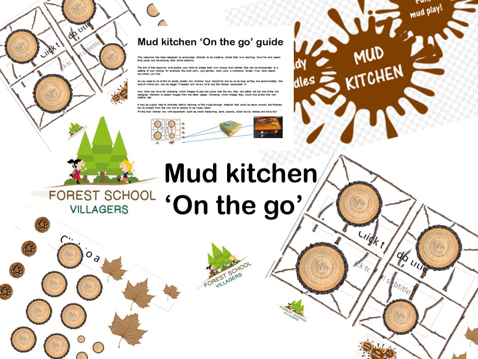 Portable mud kitchen for outdoor play