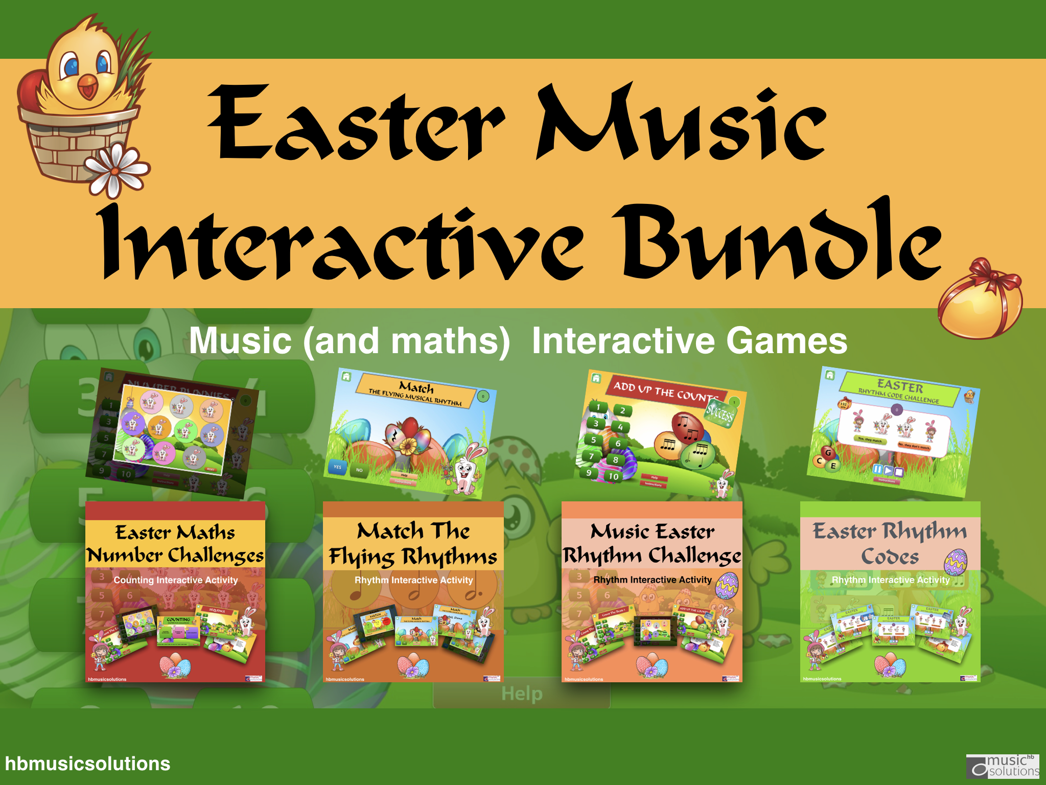 Easter Music Bundle+