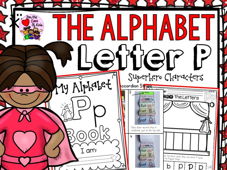 PHONICS: THE ALPHABET: LETTER P