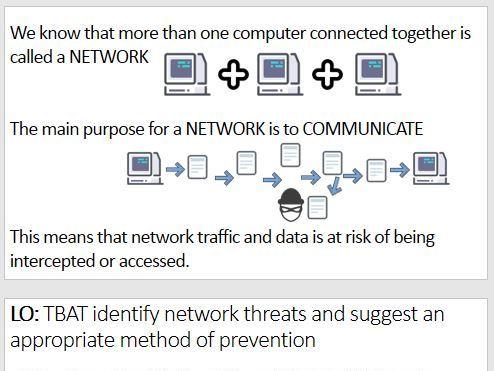 OCR GCSE Computer Science System Security 1.6