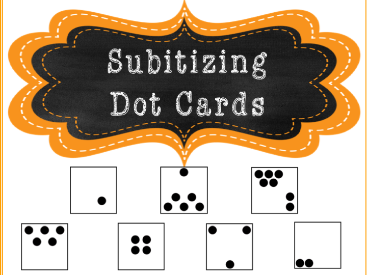 Subtitizing Dot Cards