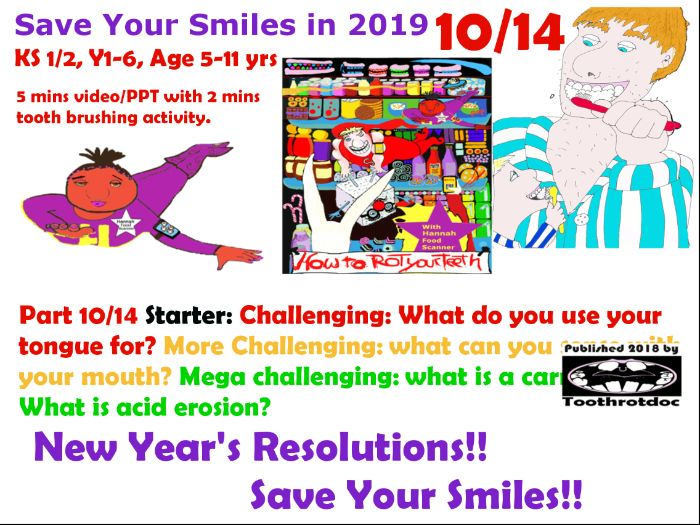 10/14 New Year's Resolutions! Save Your Smiles!