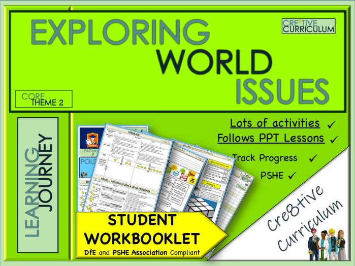 PSHE World Issues Work Booklet