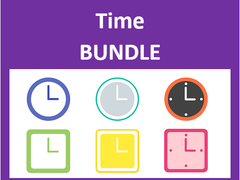 Horas (Time in Portuguese) Bundle