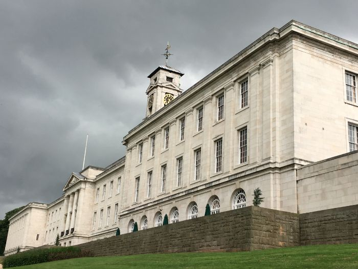 A Visit to Nottingham University in England: Photo Collection