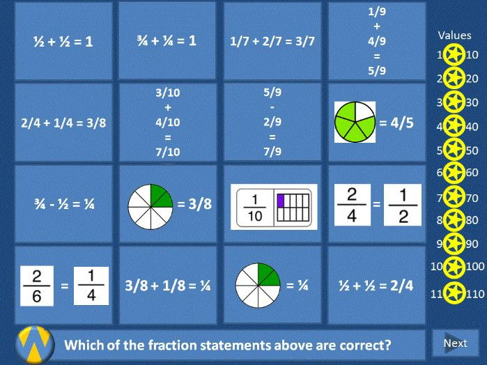 Wipeout Template Slides for Maths - suitable for KS1 to KS4
