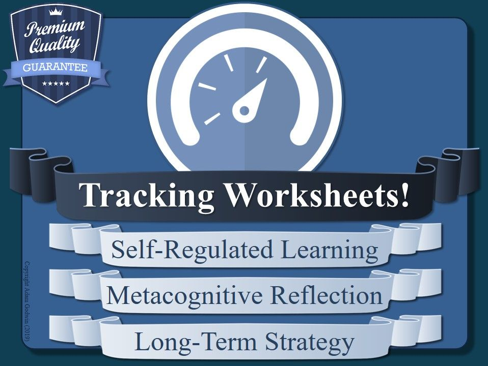 Tracking Worksheets (x10) [Metacognition & Self-Regulated Learning]