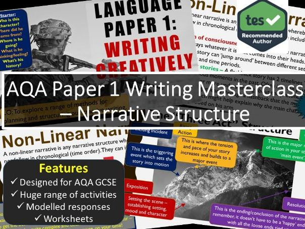 Creative Writing Masterclass - Narrative Structure