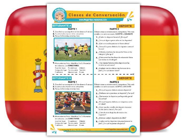 Deporte - Spanish Speaking Activity