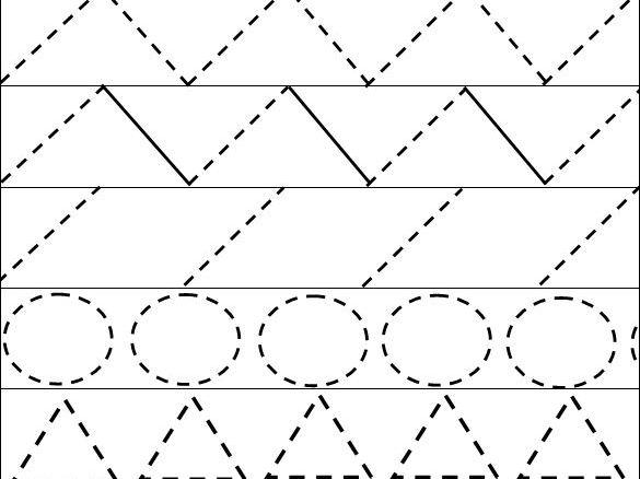 Fine Motor Handwriting Sheets