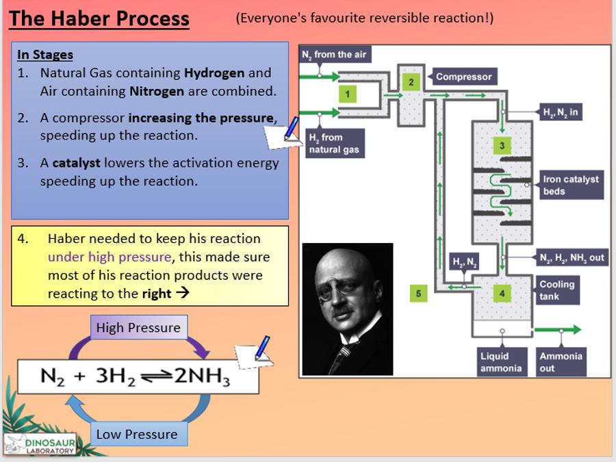 KS4 C8.7 Energy changes in reversible reactions
