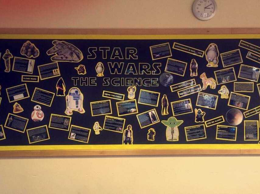 STAR WARS- The Science Classroom Display