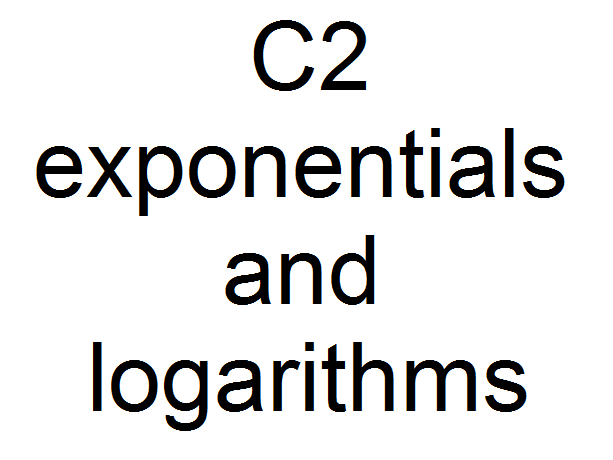 C2 exponentials and logarithms