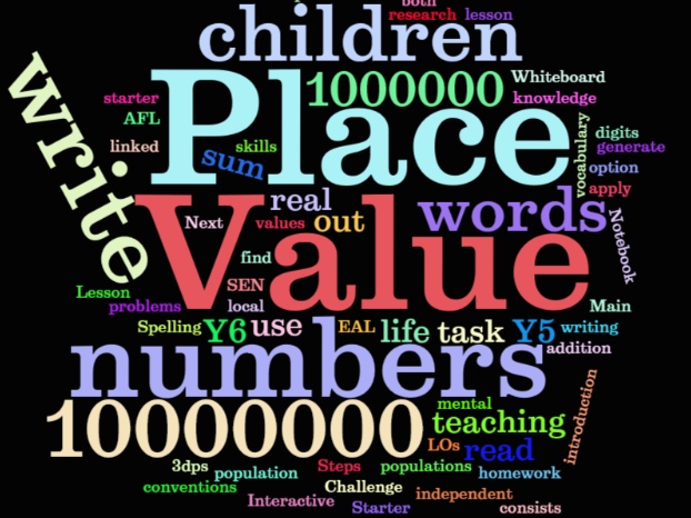 Upper Key Stage 2 (Year 5 & Year 6) Place Value - read and write numbers up to 10,000,000