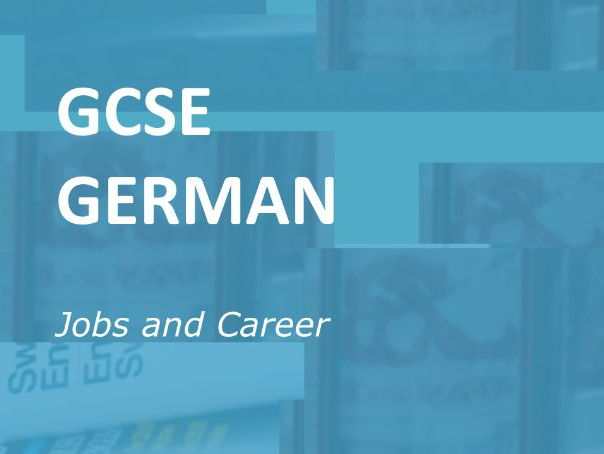 German GCSE: Online Resources