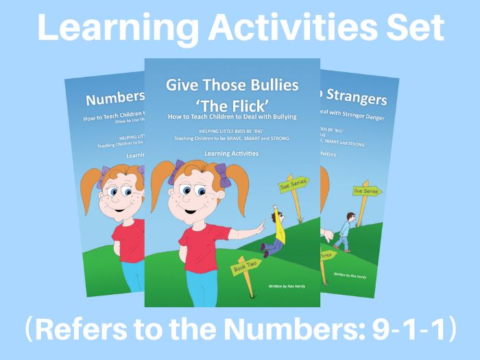 Learning Activities - (USA) - How to Deal with Emergencies, Bullying and Stranger Danger - '911'