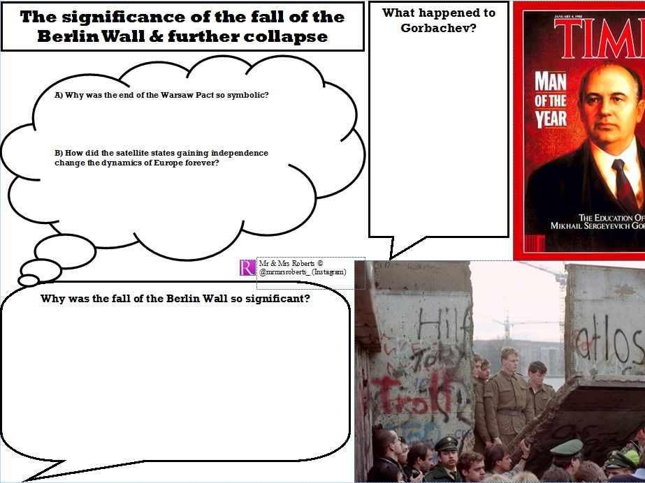 Edexcel GCSE History - Superpower relations & the Cold War - Topic 3.3 - Berlin Wall & Collapse