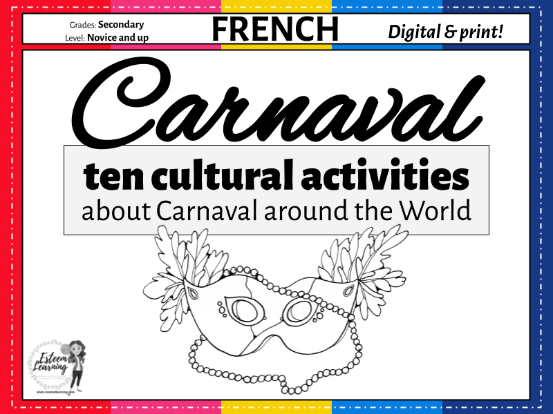 Carnaval - Ten Cultural Activities about French Carnival