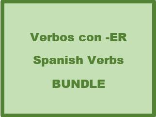 Verbos con ER (Spanish ER Verbs) Bundle