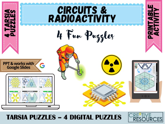 Circuits and Radioactivity - Physics Science Puzzles