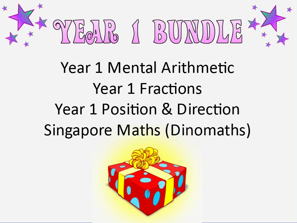 Year 1 Maths Bundle