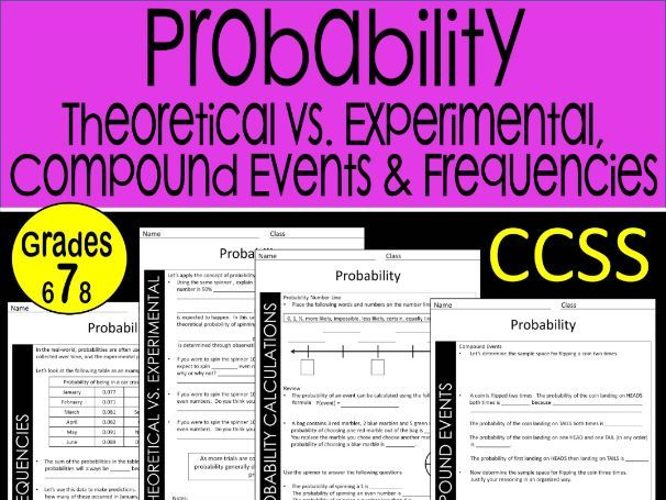 7th Grade Math Probability Guided Notes