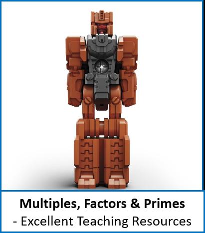 Number: Multiples (LCM), Factors (HCF), Primes inc. Prime Factor Trees (4 - 5 Lessons) Bundle