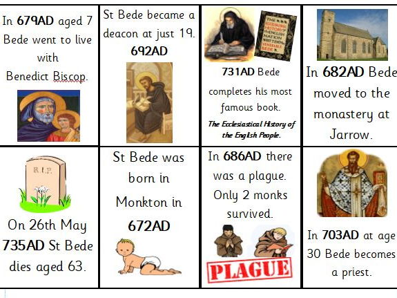 St Bede activity pack