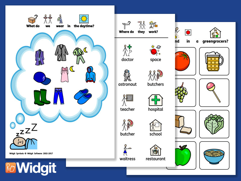 Foundation Knowledge 1 - Language Support with Widgit Symbols