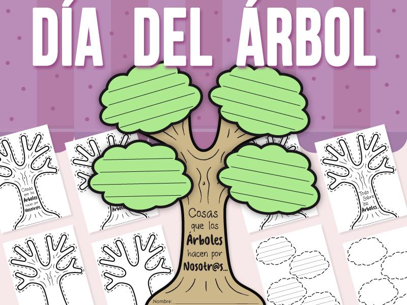 Día del Árbol - Manualidad