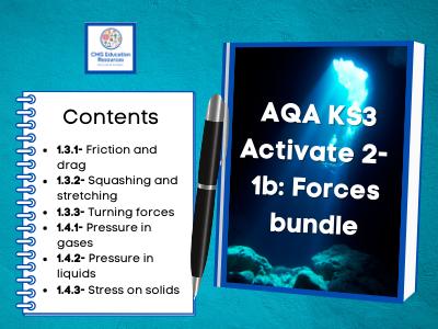 KS3 AQA Activate 2- 1b Forces bundle