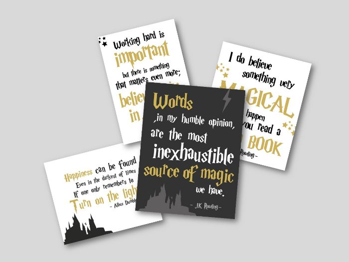 Harry Potter Classroom Quotes
