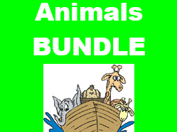 Animaux (Animals in French) Bundle